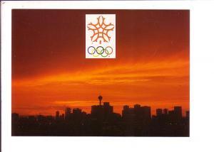 Everning Skyline, 1988 Calgary Olympic Winter Games, Alberta