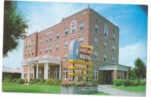 Wytheville VA George Wythe Hotel Vintage Virginia Postcard