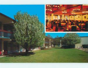 Unused Pre-1980 QUALITY INN MOTEL & RESTAURANT Florence South Carolina SC u4554