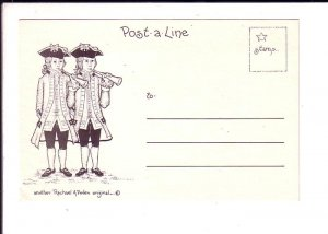 Post a Line, USA Military Sketches, Rachel Peden