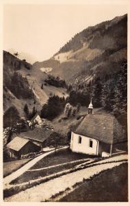 Sachseln Flueli-Ranft Switzerland~Hermit & Ascetic Hostel~RPPC 1940s