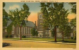 NY - Ithaca. Cornell University. Myron Taylor Hall