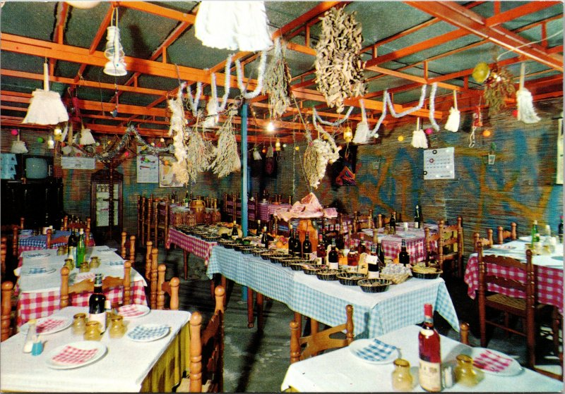 Foggia Italy Restaurant Nando Postcard unused 1970s/80s