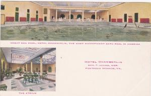 FORTRESS MONROE , Virginia , 00-10s ; Hotel Chamberlin , Pool