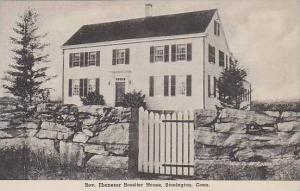 Connecticut Stonington Ebenezer Rossiter House Albertype