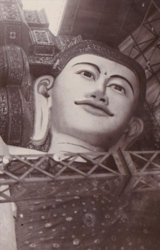 Cambodia Malaysia Pegu Mask Real Photo