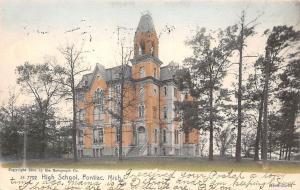 Mich, Pontiac, High School 1905