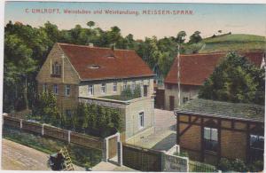 C. UMLAUFT, Weinstuben und Weinhandlung, MEISSEN-SPAAR , Germany, 1906