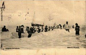 CPA Berck Plage- Baignade des enfants FRANCE (908567)