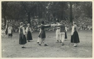International Folk Dance Festival Exhibition London 1935 ethnic folklore costume