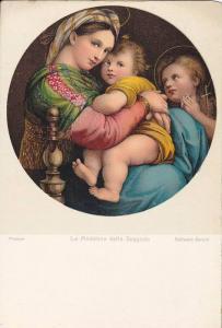 AS: La Madonna della Seggiola, Raffaello Sanzio, Firenze, Italy 00-10s