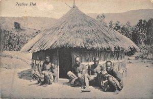 Lot 41 native hut  types folklore  africa kenya