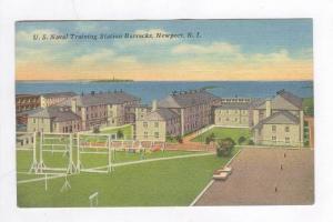 U.S. Naval Training Station Barracks, Newport, Rhode Island, PU-1942