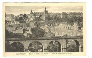 Luxembourg, Bock & Viaduc du Nord, 1910s