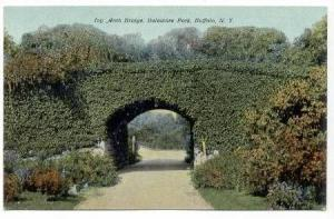 The Arch Bridge, Delaware Park, Buffalo, New York, 00-10s