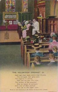 Bamforth The Volunteer Organist Card Number 3
