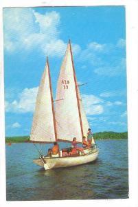 Sailing on Ketucky Lake, 40-60s