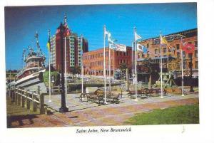 Ocean Hawk Pub At Market Square, Saint John, New Brunswick, Canada, 1970-1980s