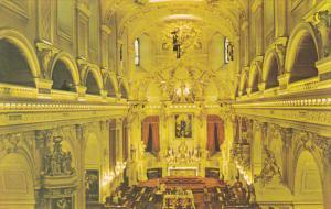 Interior View, Basilique-Cathedrale Notre-Dame de Quebec,  QUEBEC CITY, Quebe...