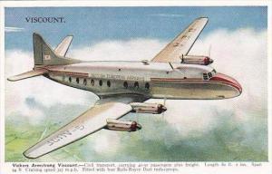 Britsh European Airways Vickers Armstrong Viscount