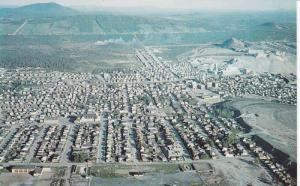 General view of the City and the Thetford-Mines,  Quebec,  Canada,  40-60s