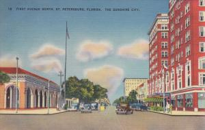 ST. PETERSBURG, Florida, 1930-1940's; First Avenue North