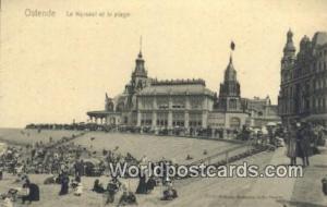 Ostende, Belgium, België, la Belgique, Belgien le Kursaal et la plage  le Ku...