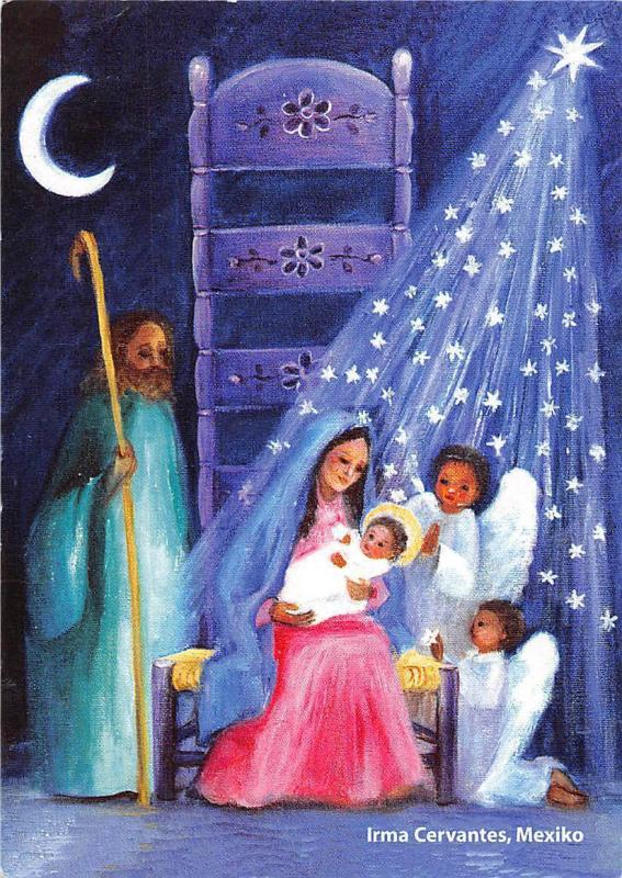 Irma Cervantes, Mexiko Madonna with Baby Angels Painting
