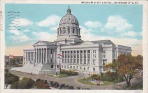 Missouri Jefferson City State Capitol Building 1936 Curteich