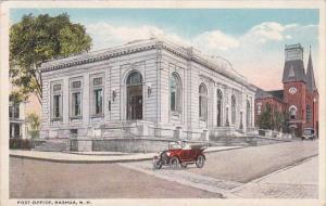 Post Office Nashua Hew Hampshire 1920 Curteich
