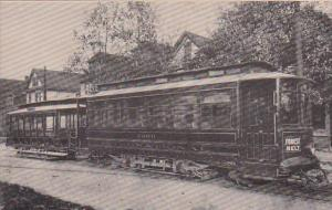 International Railway Company Trolley No 2000 and No 962 Built By St Louis Ca...