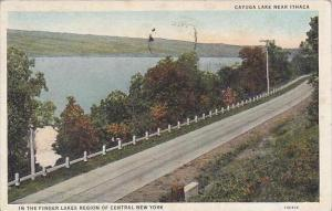 New York City Cayuga Lake Near Ithaca In The Finger Lakes Region Of Central N...