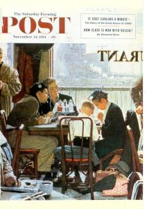 Norman Rockwell - Saying Grace