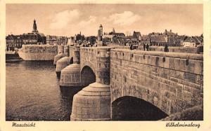 Maastricht Holland Wilhelminabrug Maastricht Wilhelminabrug