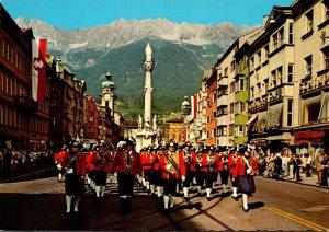 Austria Innsbruck Maria-Theresian Strasse GGegen Nordkette
