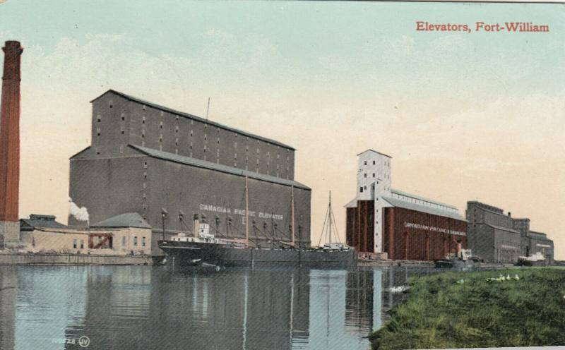FORT WILLIAM , Ontario , PU-1910 ; Elevators