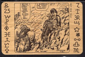 The Ether J R Williams Western Comic