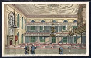 Interior of Old South Meeting House,Boston,MA