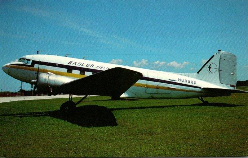 Basler Air Services Douglas DC-3 At Oshkosh Wisconsin