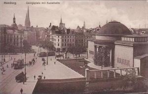 Germany Hamburg Georgsplatz mit Kunsthalle