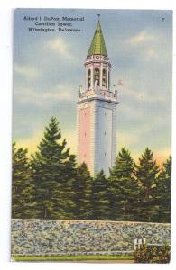 Carillon Tower Alfred I. DuPont Memorial Wilmington DE Linen