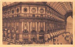 Milano Oitagono Galleria Vittorio Emanuele Italy Unused