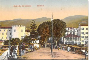 Entrada da Cidade Madeira Spain Unused