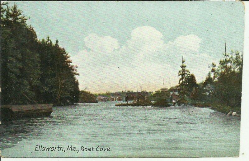 Ellsworth, Me., Boat Cove