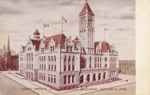 OMAHA, Nebraska, 1900-10s; Post Office & Federal Building