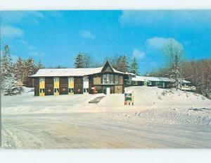Pre-1980 SKIING - SKIERS PARADISE AT BROMLEY MOUNTAIN MOTEL Manchester VT c5178