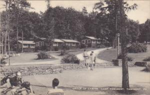 Group Of Cabins Camp Tamiment Tamiment Pennsylvania Artvue