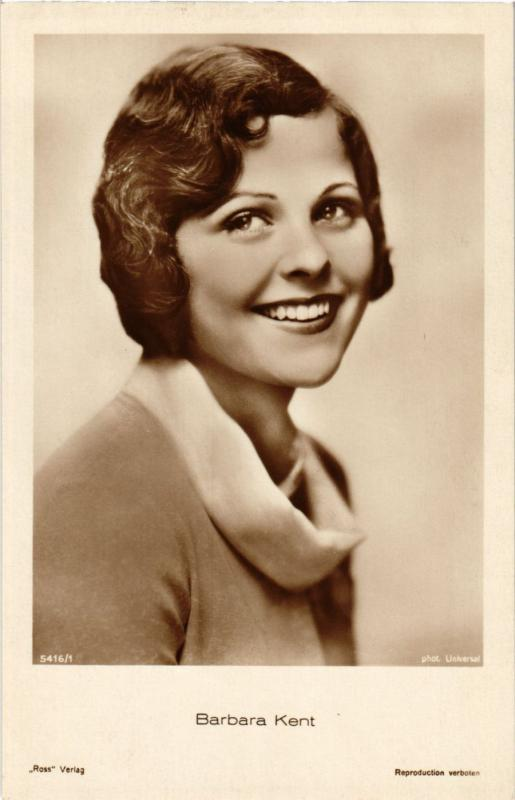 CPA AK Barbara Kent Film Stars (327087)