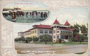 2-View, LONG BEACH, California; Sanitarium, Every day in the year, PU-1910