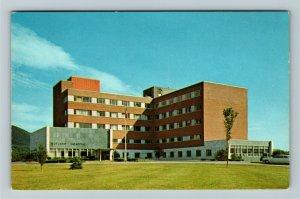 Rutland VT- Vermont, Rutland Hospital, Medical, Chrome Postcard